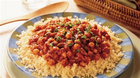 Couscous with Vegetarian Spaghetti Sauce Recipe ...