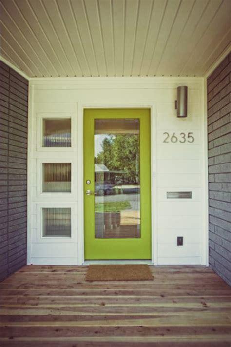 Modern Front Door Colors Mid Century Modern Picmia