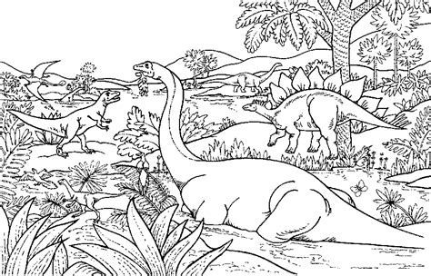 Dinosaur Coloring Pages Coloringpages1001 Com Free Coloring Pages Dinosaurs