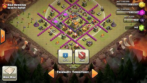 coc layout anti dragon th7 photos of best coc town hall 7 newhairstylesformen2014 com