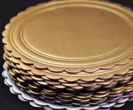 diy affordable plate charger paint cake rounds