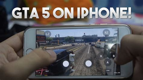 gta 5 gameplay on iphone 6s gta v running on ios moonlight best ios