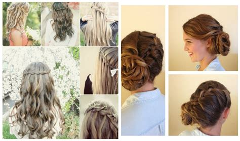 Easy Wedding Hairstyles Bridesmaid by Exclusive 3 And Easy Hairstyles For Modish