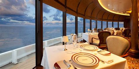 cruise ship dining options cruisemapper
