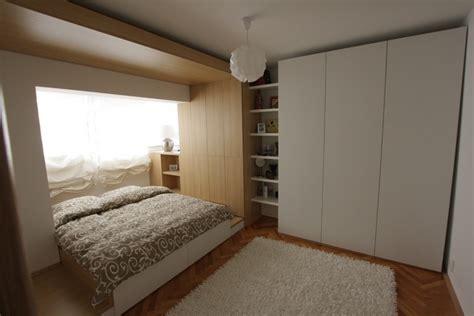 design interior dormitor apartament mic recompartimentare dormitor design