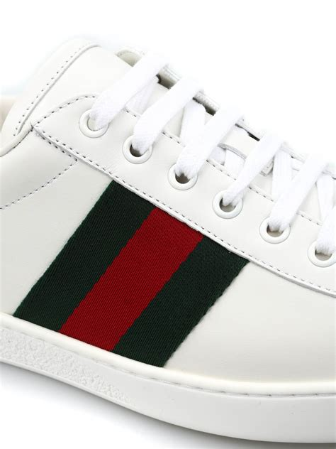 dompet pendek import 100 original leather crocodile 005 black leather sneakers with web detail by gucci trainers ikrix