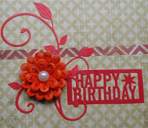 Handmade Flower Cards - buy beautiful handmade quilling flower card shipmycard