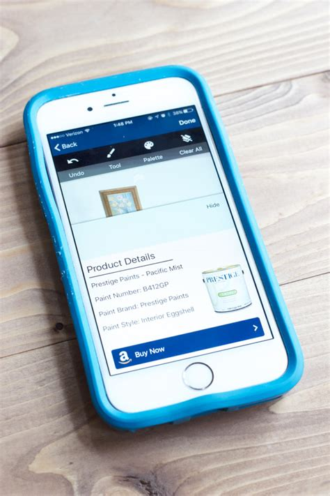 app to see paint color on walls choosing purchasing paint made easy a giveaway