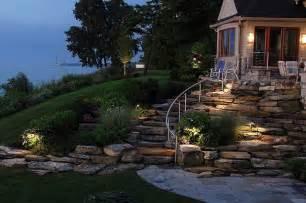Landscape Ideas For Hilly Backyards Backyard Walk Out Basement Sloped Planting And Steps