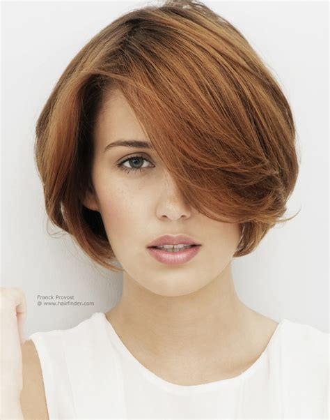 short hair with much top length for the professional woman
