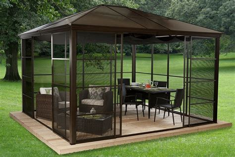 pavillon komplett set pavillon mit festem dach die besten 17 ideen zu pavillon