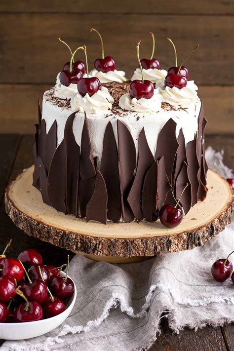 cara membuat whipped cream black forest black forest cake with fresh cherries