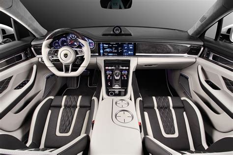 porsche cars interior porsche panamera stingray gtr by topcar has hypnotizing