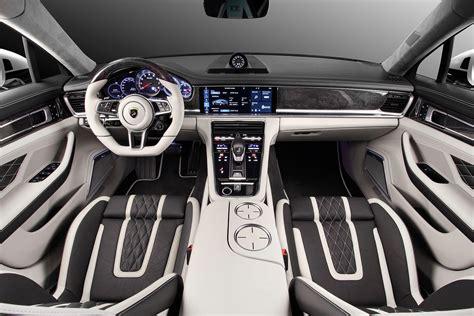 Porsche Panamera Stingray GTR by TopCar Has Hypnotizing Leather Interior autoevolution