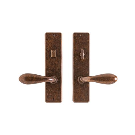 Interior Door Hardware Sets Hammered Privacy Set 2 1 2 Quot X 10 Quot Privacy Mortise Bolt Latch E30413 Rocky Mountain