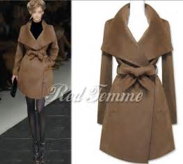 2014 ladies sale woolen coat women s fashion woolen