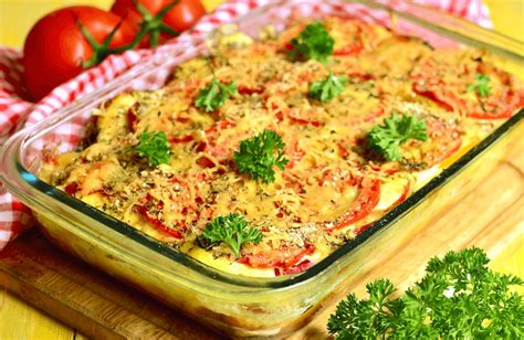 tomato vegetable casserole recipe sparkrecipes