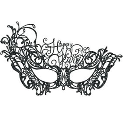 new year printable mask black gold silver new year s hats masks