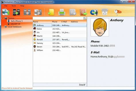 how to to android how to transfer contacts from iphone to android on pc