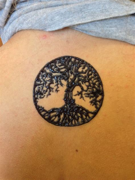 henna tattoo visalia ca tree of henna on the back henna
