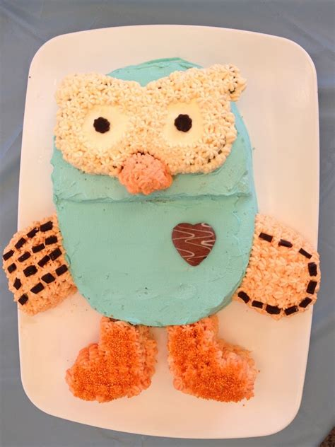 hoot  owl  cake  giggle  hoot abc cooking