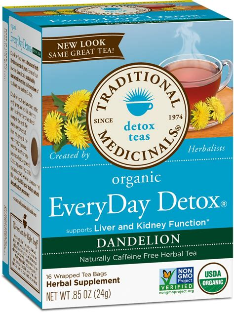Organic Everyday Detox Tea by Traditional Medicinals Organic Everyday Detox