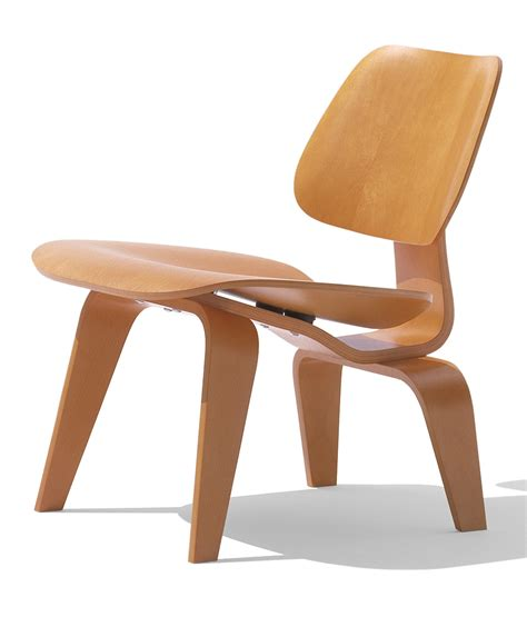 stuhl 3 beine herman miller eames 174 molded plywood lounge chair wood