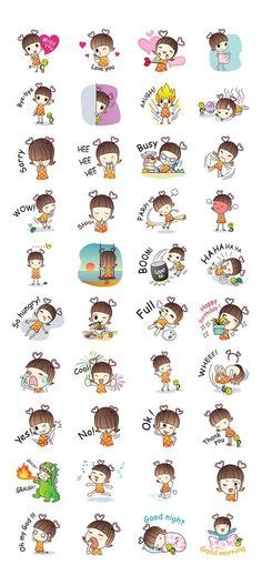 theme line chanbaek squly friends stickers with happy forest theme are