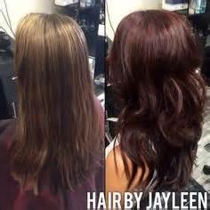 ambrey hair red violet hair using schwarzkopf color hair and makeup