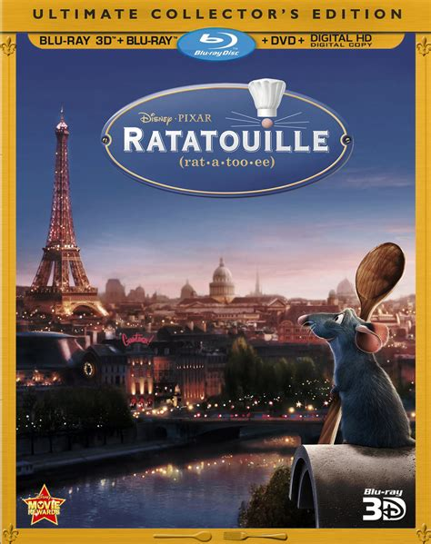 film blu ray 3d ratatouille 3d blu ray released in uk and france pixar talk
