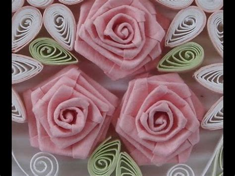 paper quilling tutorial youtube how to fold rose paper quilling youtube
