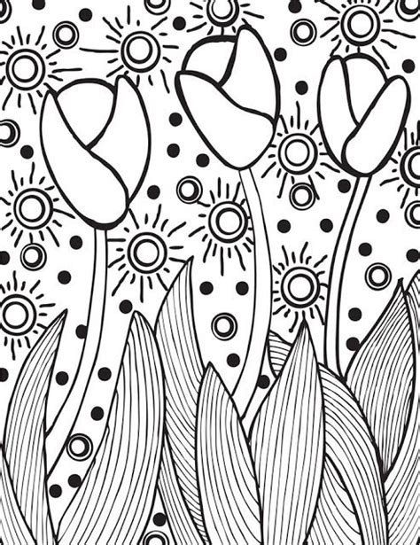 abstract easter coloring pages abstract doodles free easter printables lente