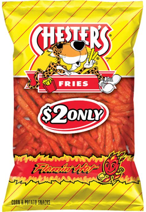 hot funyuns heb chester s 174 flamin hot 174 fries flavored corn potato snacks