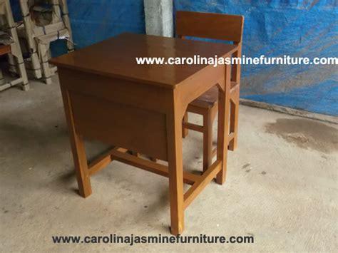 Kursi Kayu Siswa meja sekolah carolina furniture