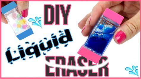 diy crafts diy liquid erasers orbeez lava glitter liquid eraser diys