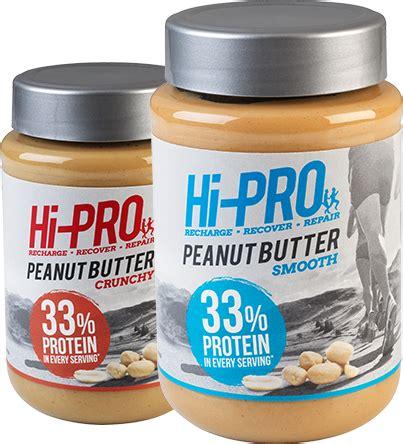 protein peanut butter hi pro peanut butter high protein hi pro