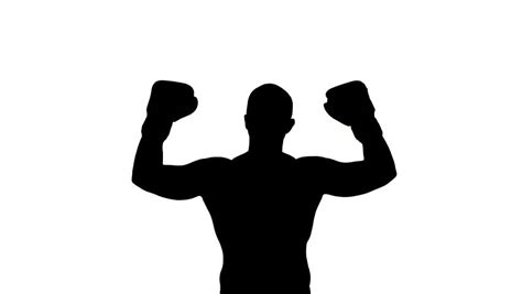 Free Silhouette Images boxer silhouette clipart best