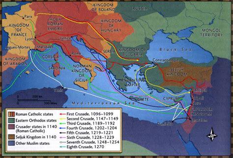 map of the third crusade the crusades