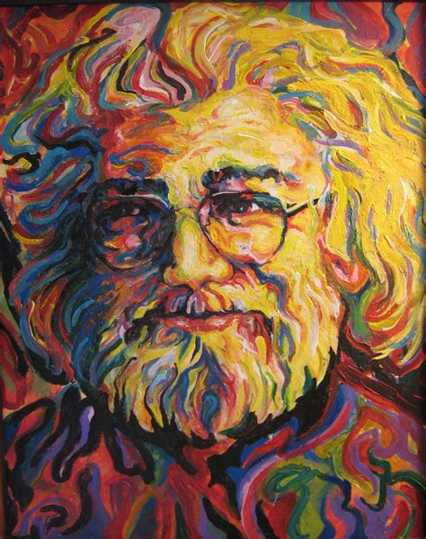jerry painting jerry garcia quotes on quotesgram