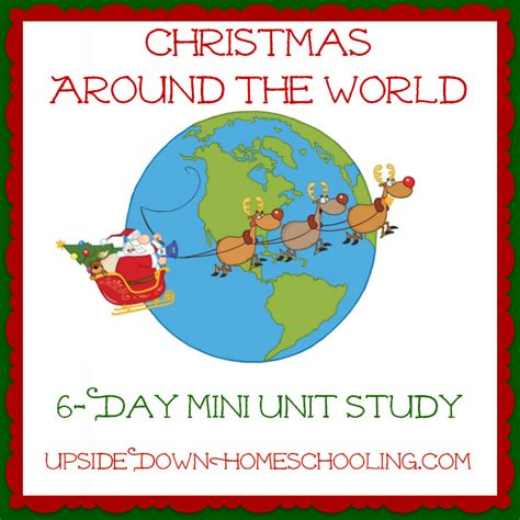 learning about christmas around the world 6 day mini unit