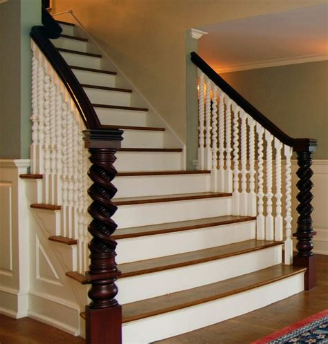 Antique Stairs Design Antique Restoration Traditional Staircase New York By Classic Connecticut Homes Llc
