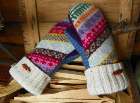 pattern felted wool mittens from sweaters you have to see felted wool mittens from sweaters by