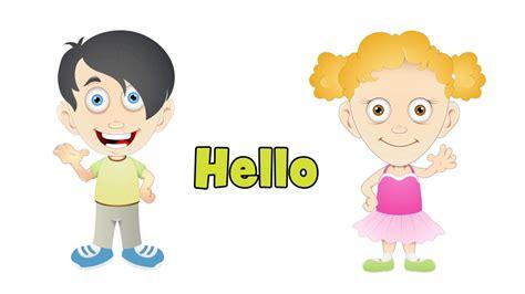 imagenes en ingles de los saludos saludos en ingl 233 s canciones infantiles youtube