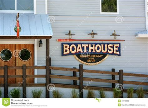 boat house stuart fl boathouse restaurant bar editorial image image 43810830
