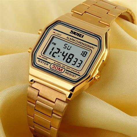 Jam Tangan Pria Skmei Stainless Water Resistant 30m 9101 M jam tangan pria skmei casual stainless