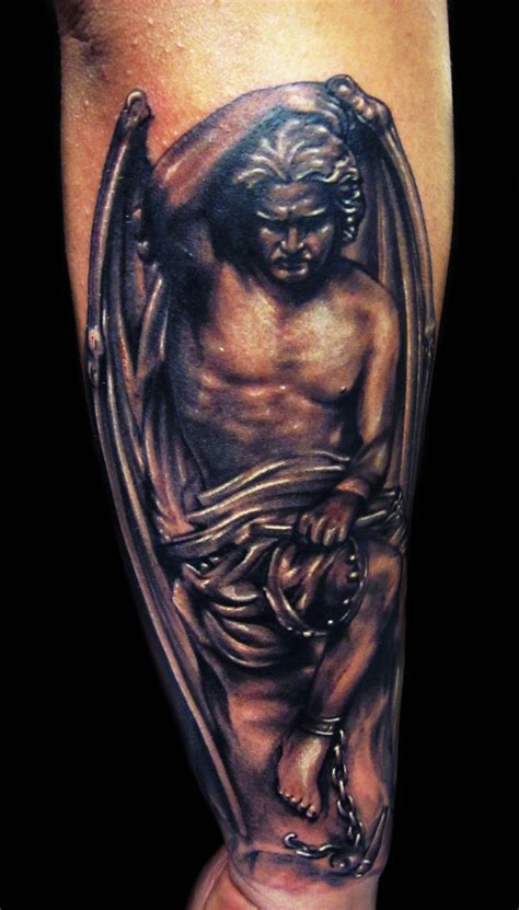 lucifer tattoo the gallery for gt statues tattoos