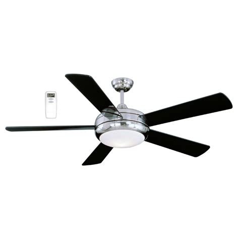 shop litex 52 in satin chrome ceiling fan with light kit