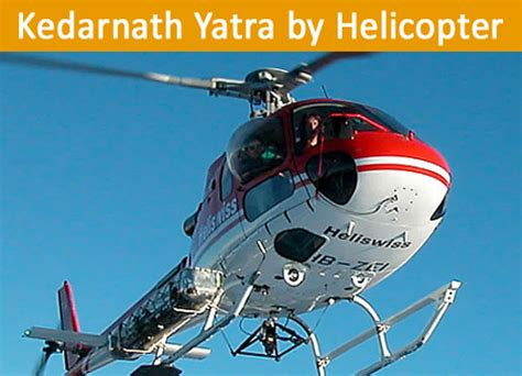 helicopter package chardham yatra