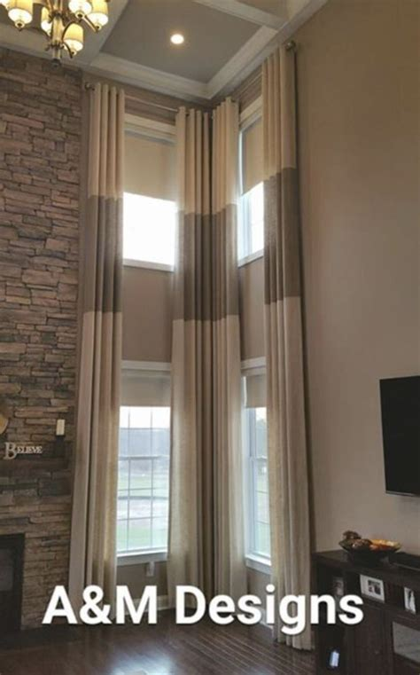 window treatments for high ceilings 17 best images about two story drapery ideas on