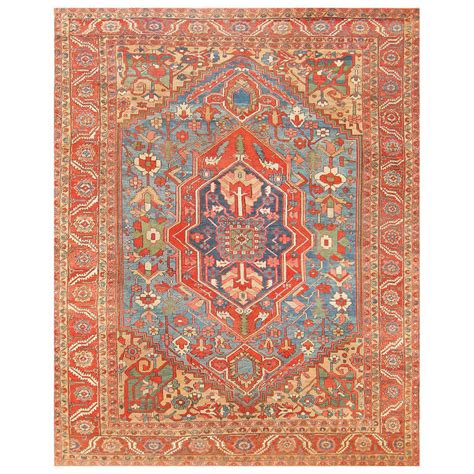 antique heriz rugs antique heriz serapi rug at 1stdibs